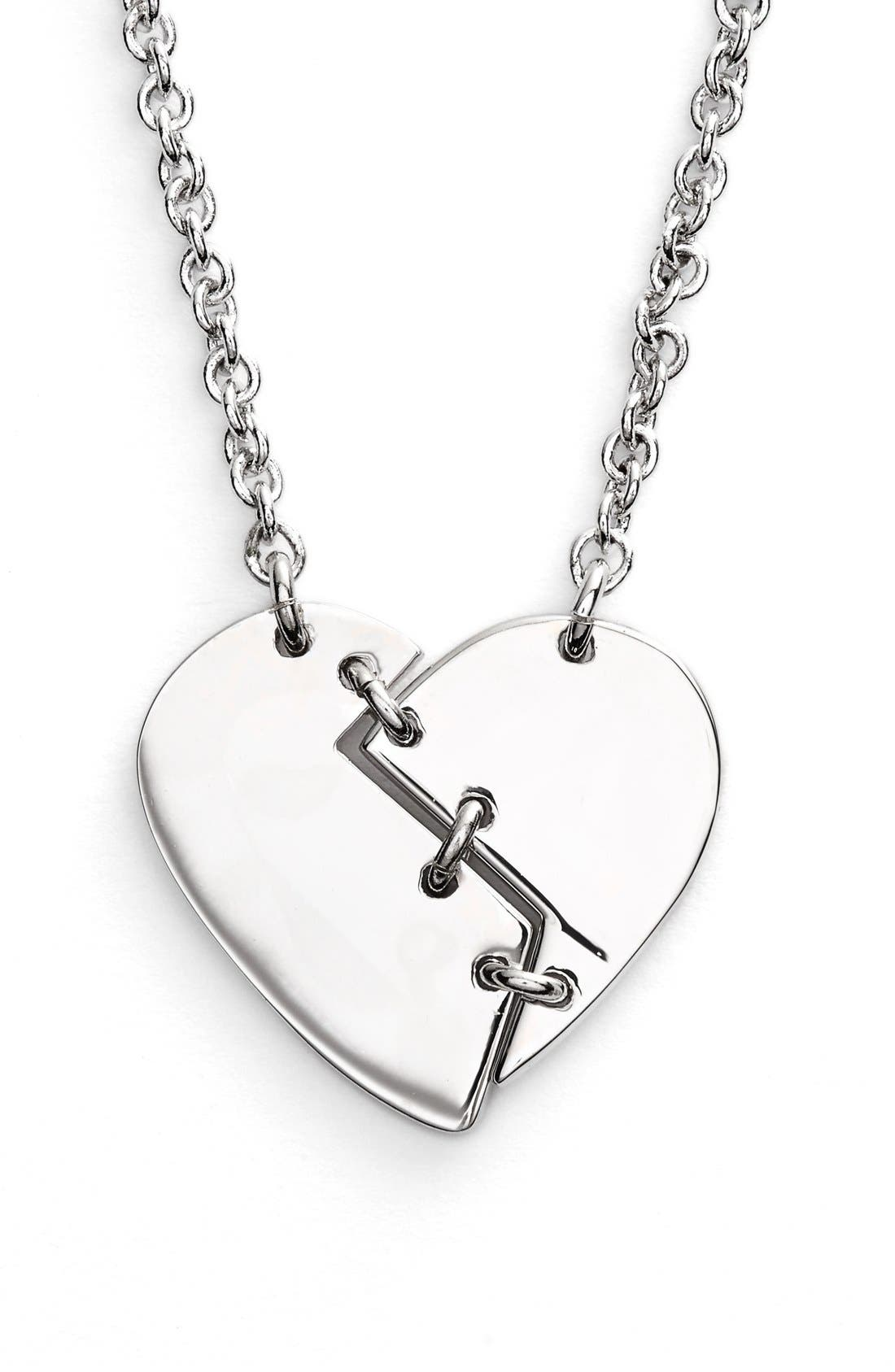 Alternate Image 1 Selected - Marc by Marc Jacobs 'Broken Heart' Pendant Necklace