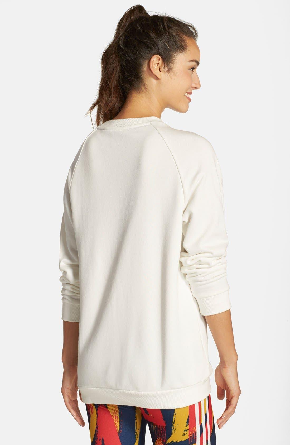 Alternate Image 2  - adidasOriginals 'Paris' Logo Pullover Sweatshirt