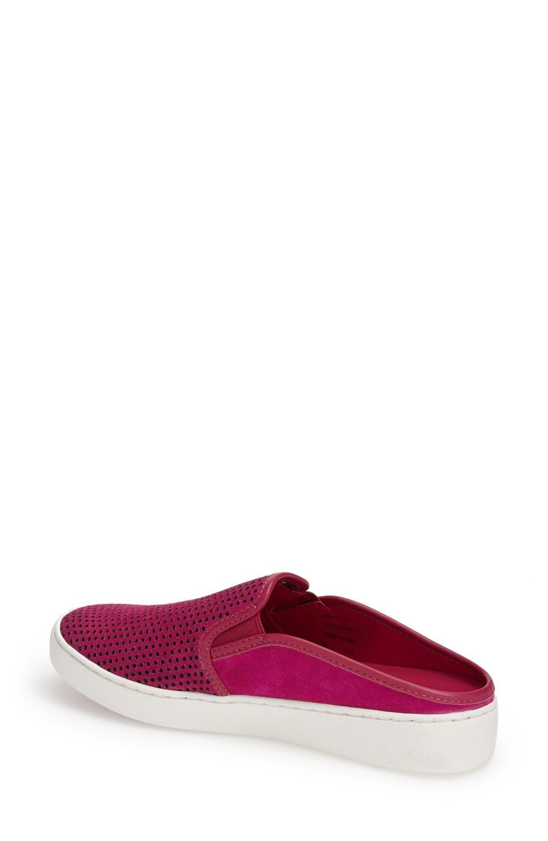 Alternate Image 2  - MICHAEL Michael Kors 'Brett' Perforated Slip-On Mule Sneaker (Women)