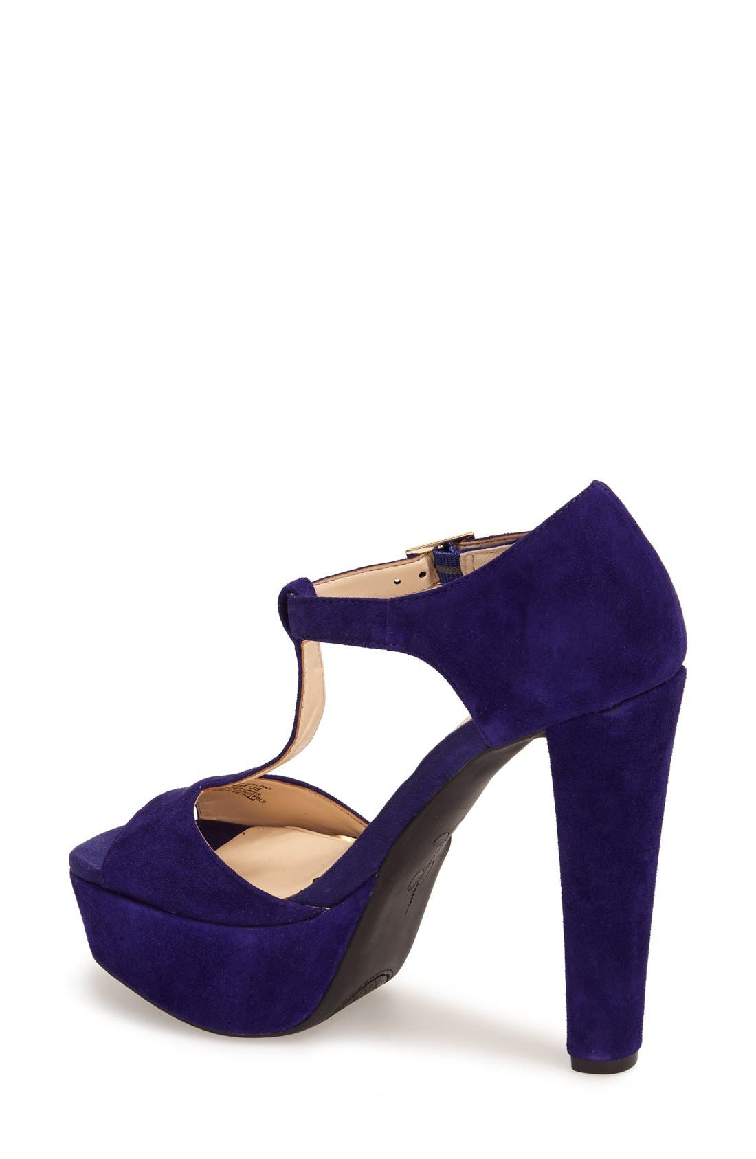 Alternate Image 2  - Jessica Simpson 'Adelinah' T-Strap Platform Sandal (Women)