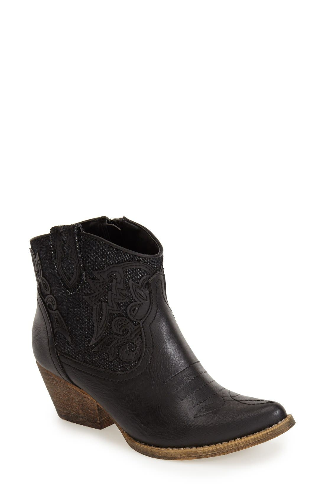 Alternate Image 1 Selected - Very Volatile 'Prine' Short Western Boot (Women)