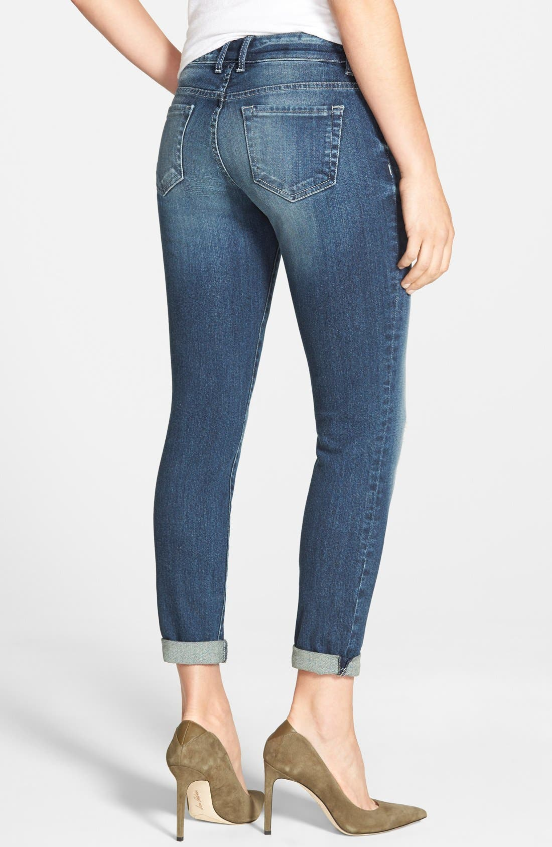 Alternate Image 2  - KUT from the Kloth 'Adele' Distressed Slouchy Boyfriend Jeans (Close)