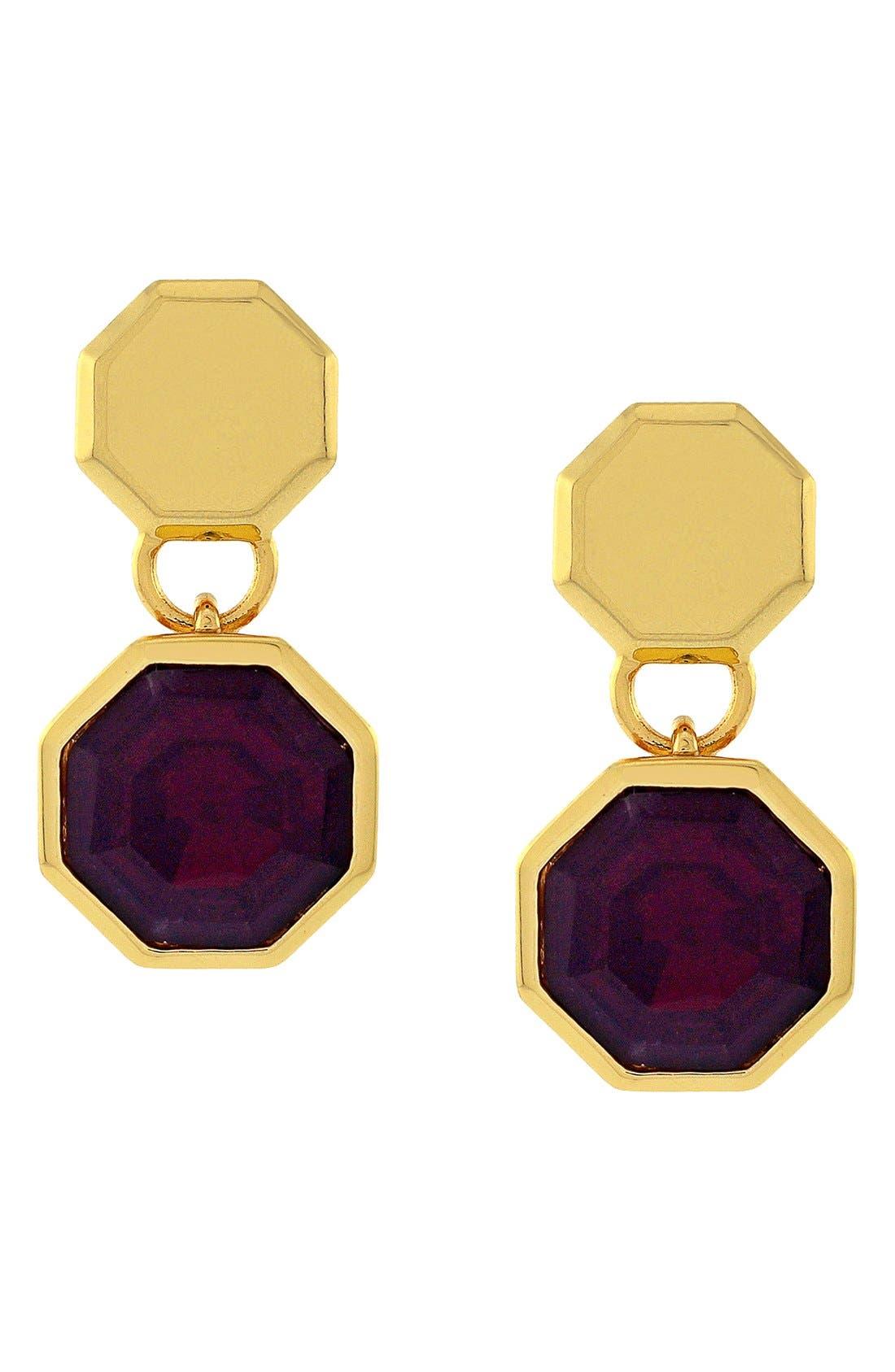 Alternate Image 1 Selected - Louise et Cie 'Bleecker Street' Geometric Drop Earrings