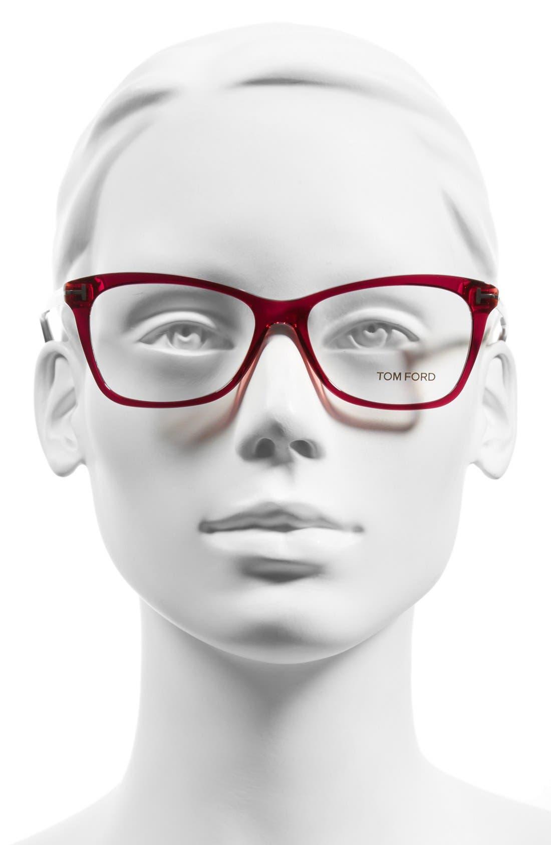 Alternate Image 2  - Tom Ford 54mm Optical Glasses