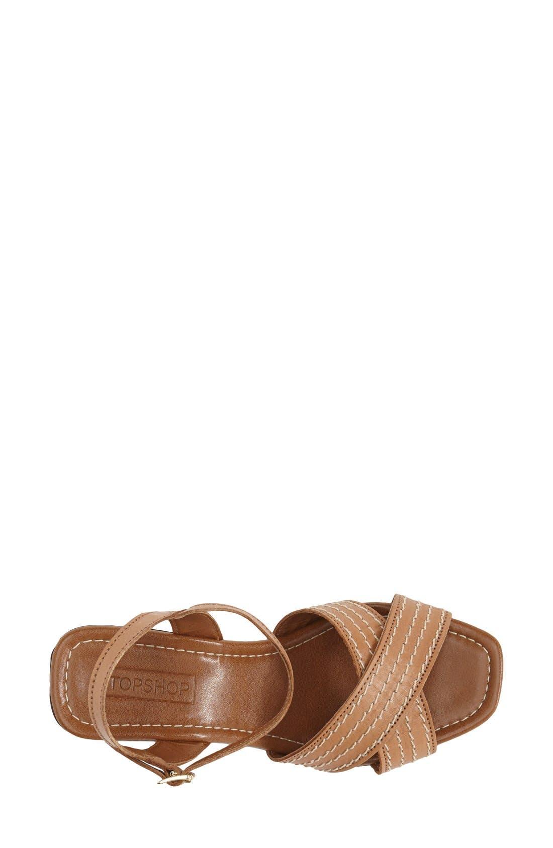Alternate Image 3  - Topshop 'Lauren' Clog Sandal (Women)