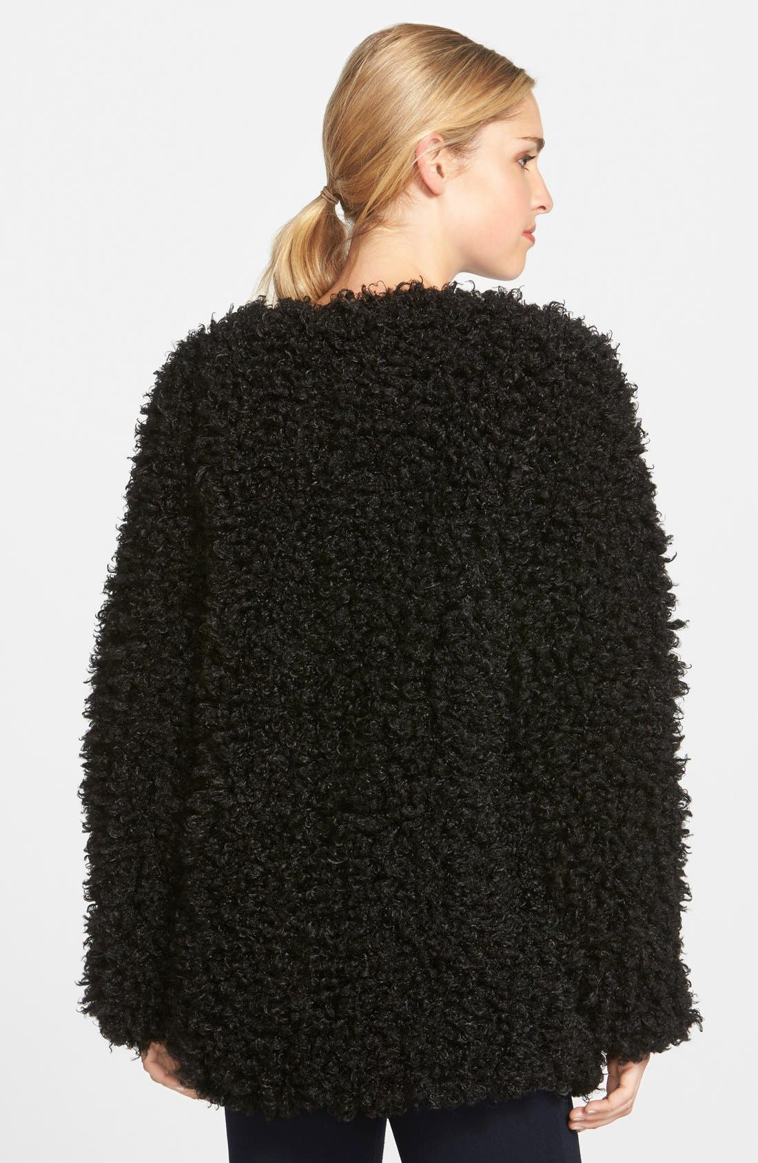 Alternate Image 2  - Vince Camuto Curly Faux Fur Jacket