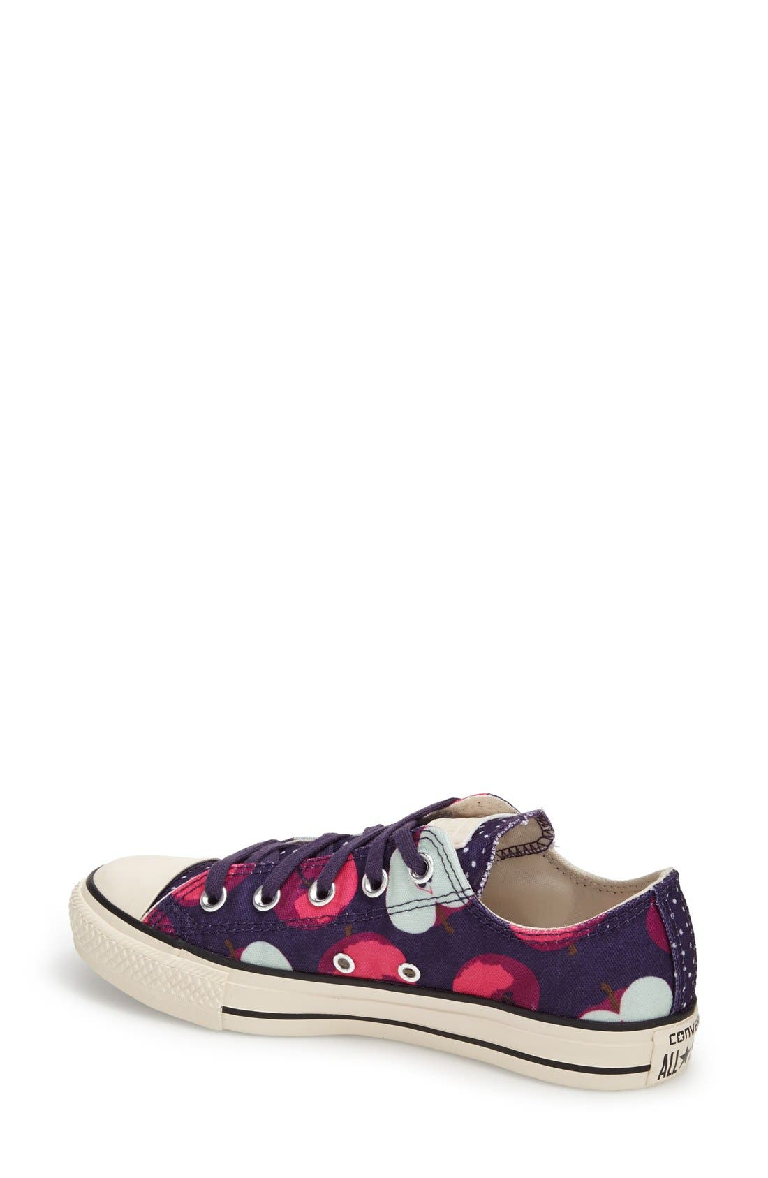 Alternate Image 2  - Converse Chuck Taylor® All Star® Apple Print Sneaker (Women)
