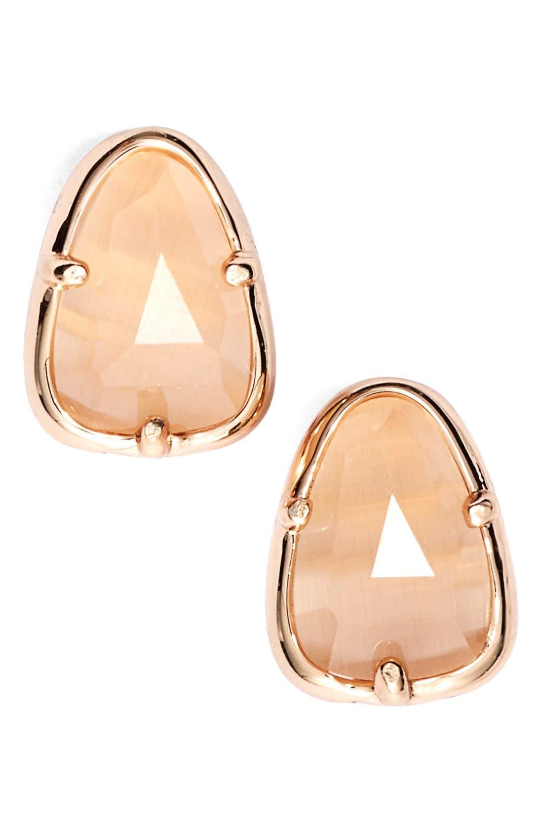 Alternate Image 1 Selected - Kendra Scott 'Hazel' Stud Earrings