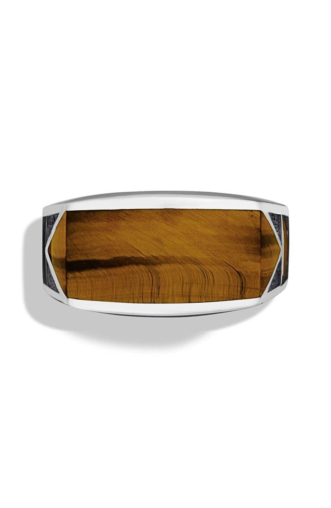 Alternate Image 3  - David Yurman 'Frontier' Ring with Tiger's Eye