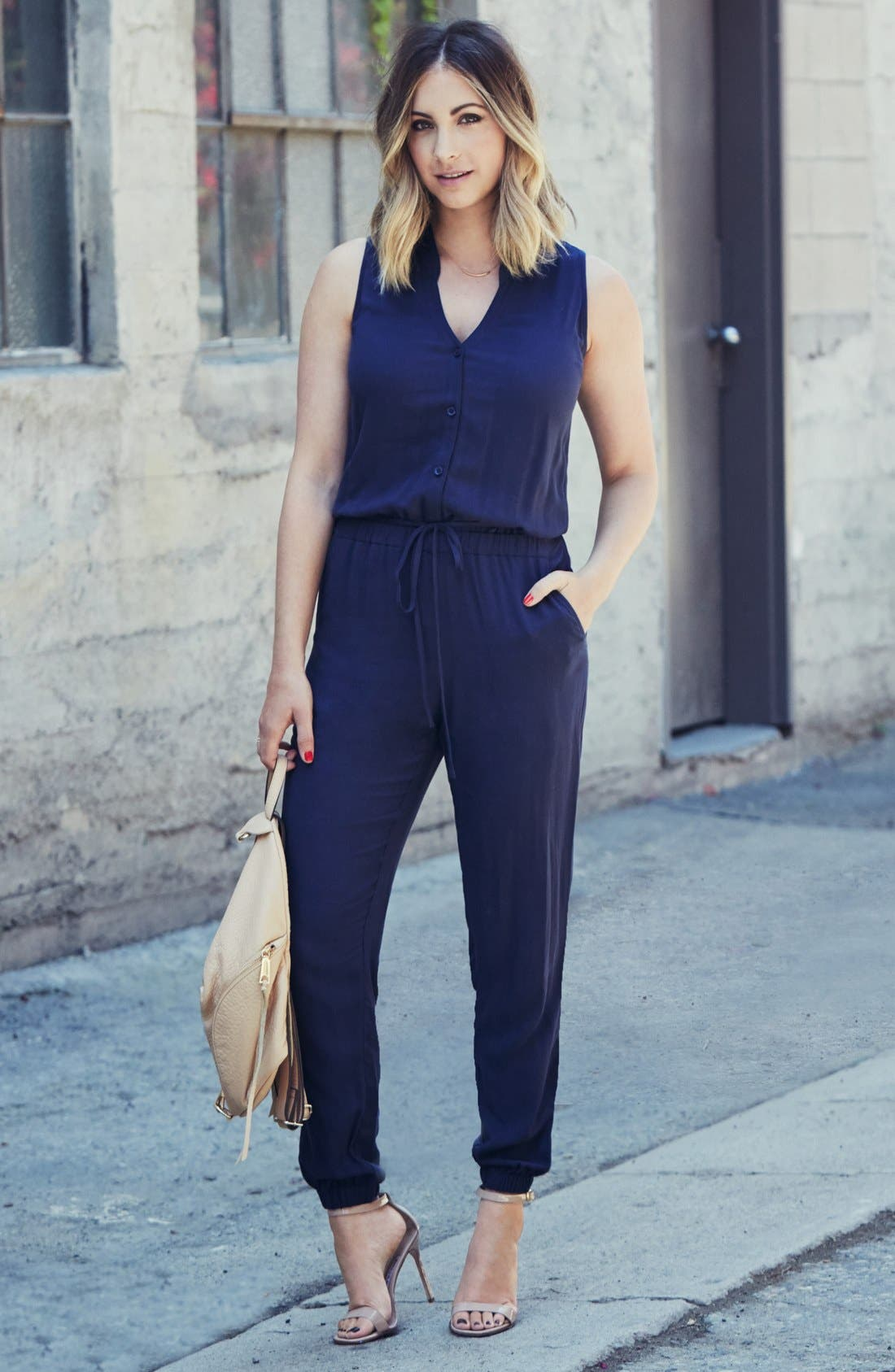 Alternate Image 4  - cupcakes and cashmere 'Roxbury' Jumpsuit (Nordstrom Exclusive)