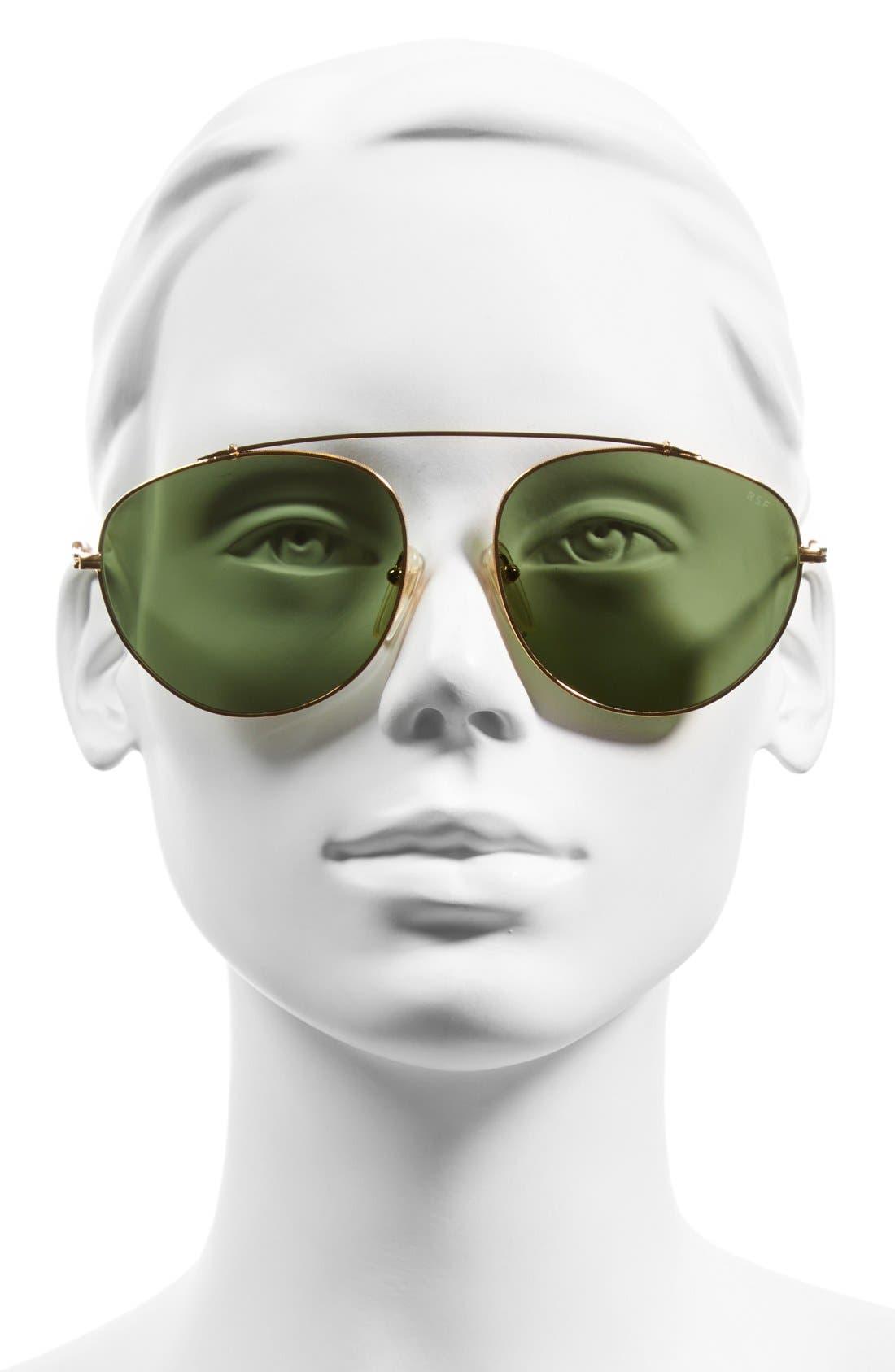 Alternate Image 2  - SUPER by RETROSUPERFUTURE® 'Leon' 55mm Aviator Sunglasses