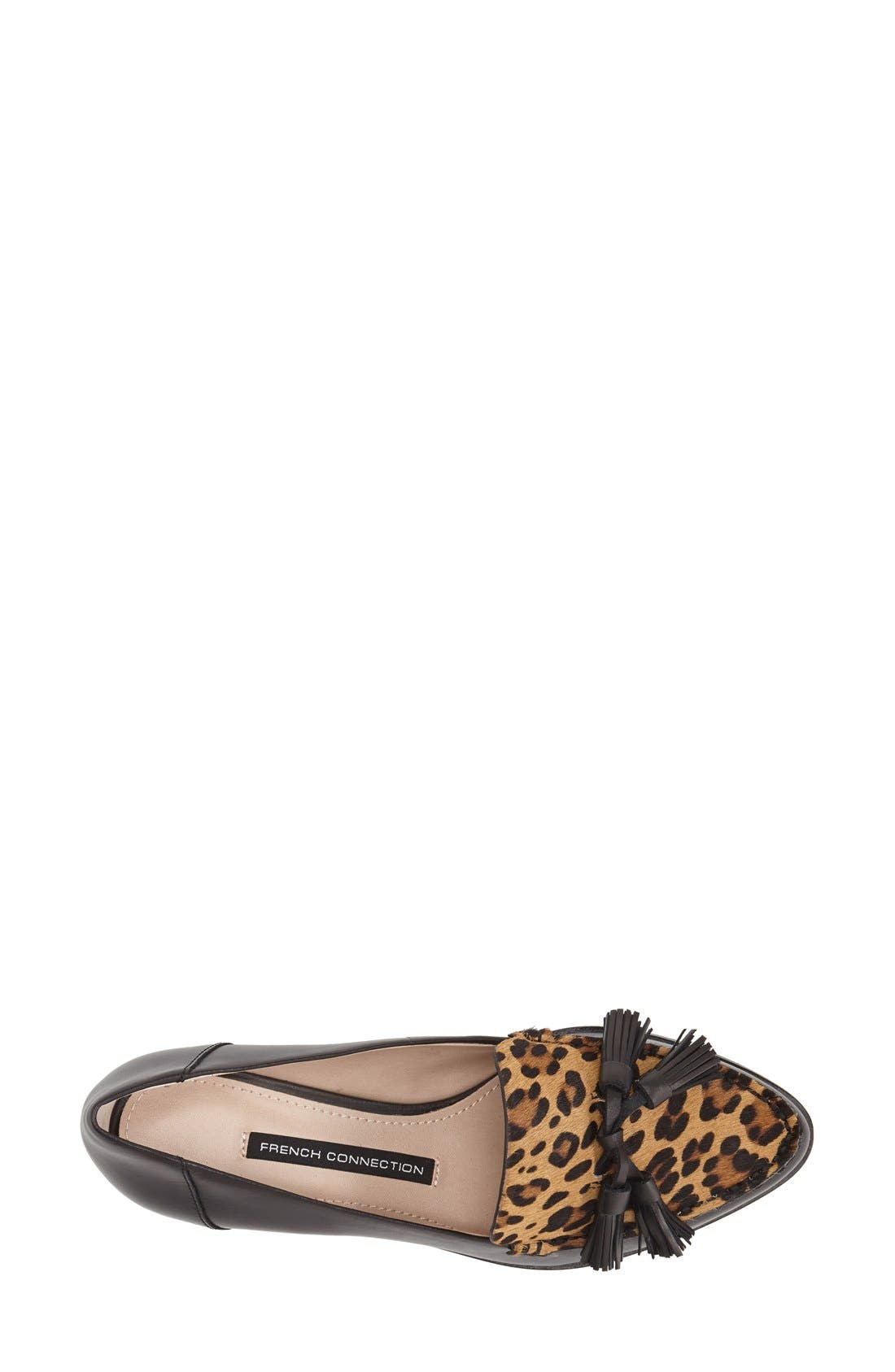 Alternate Image 3  - French Connection 'Lonnie' Tassel Loafer (Women)