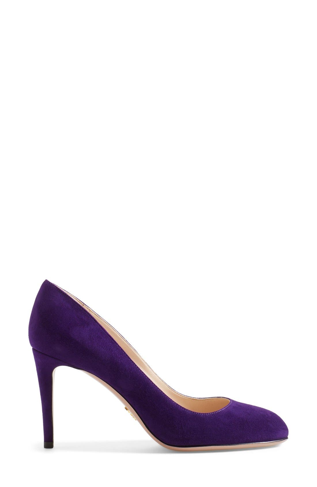 Alternate Image 4  - Prada Almond Toe Pump (Women)