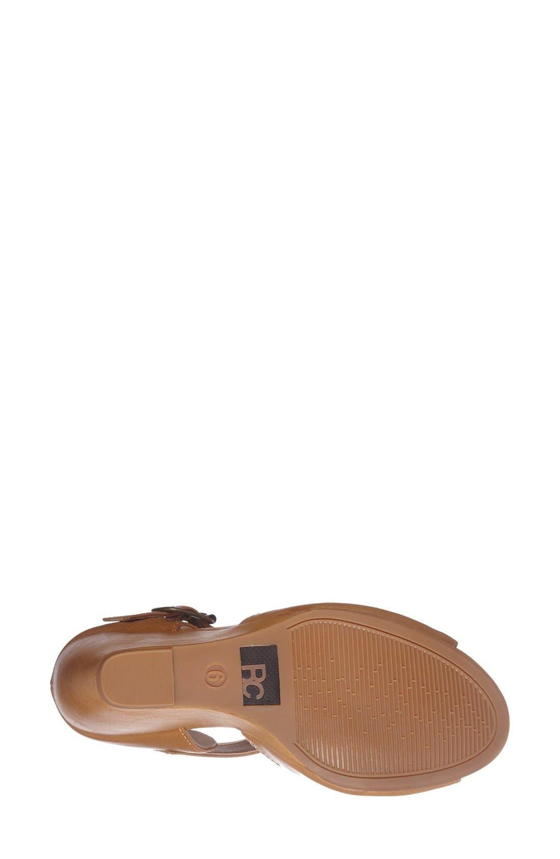 Alternate Image 4  - BC Footwear 'Spark' Wedge Sandal (Women)