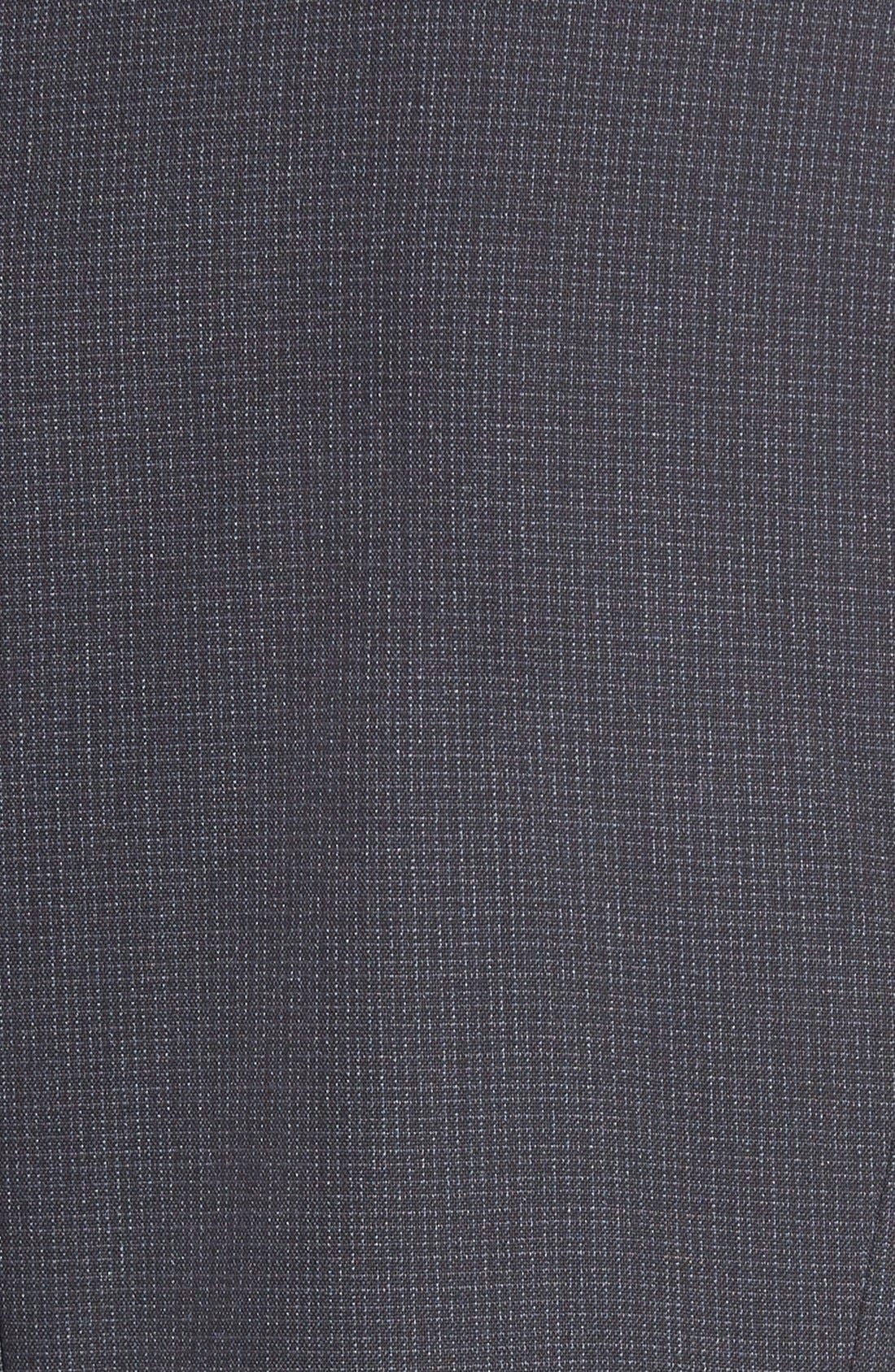 Alternate Image 5  - Halogen® Crosshatch Suit Jacket (Regular & Petite)