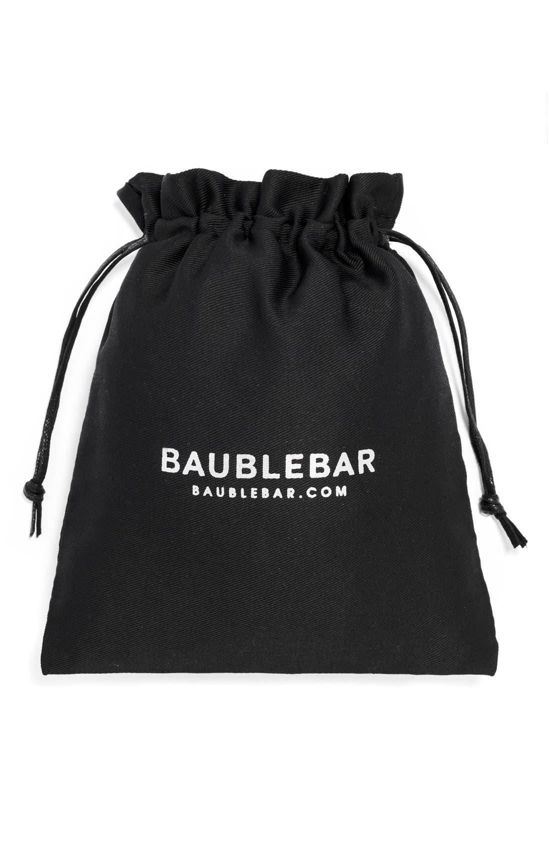 Alternate Image 2  - BaubleBar 'Chrysler' Pavé Stud Earrings