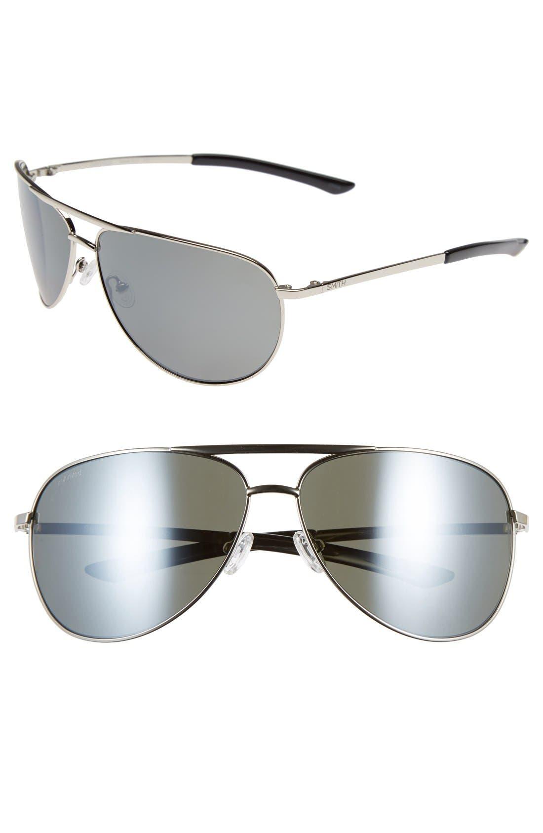 Smith 'Serpico' 66mm Polarized Sunglasses