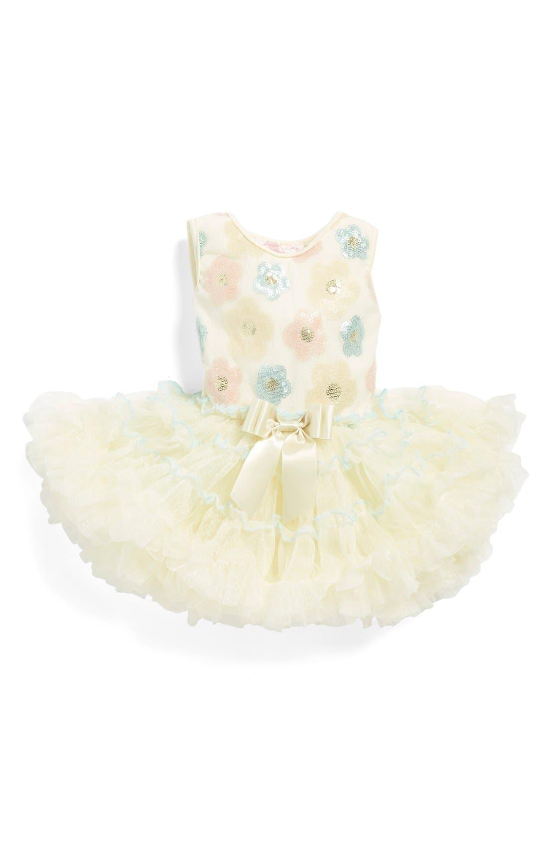 Popatu Sequin Flower Pettidress (Baby Girls)