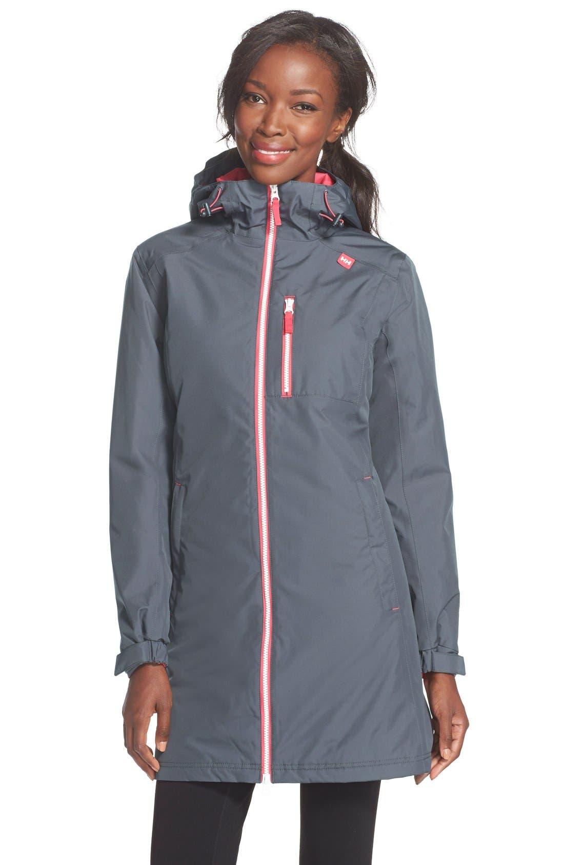 Helly Hansen 'Belfast' Long Waterproof Winter Rain Jacket | Nordstrom