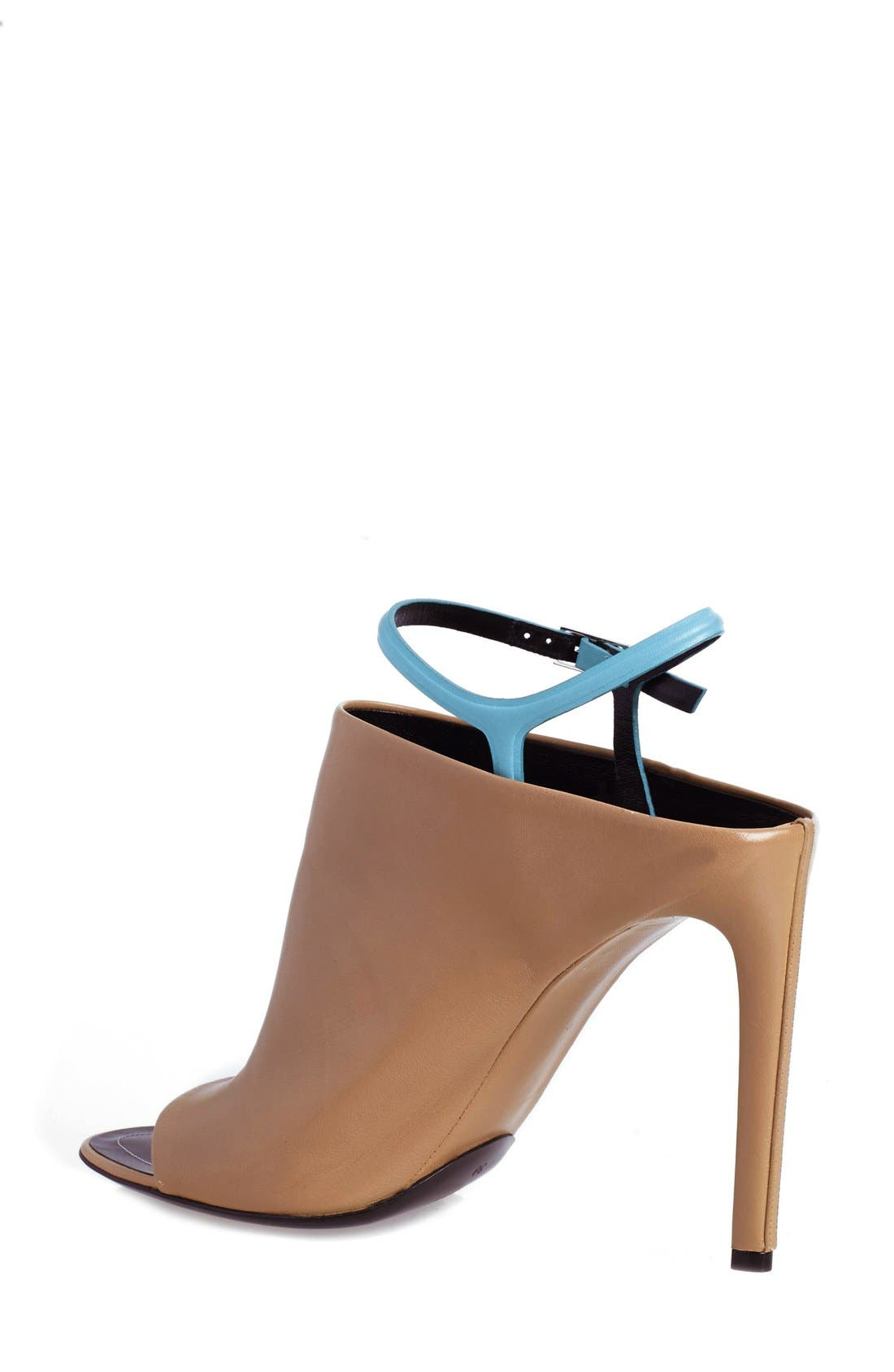 Alternate Image 2  - Balenciaga 'Glove' Bicolor Leather Open Toe Sandal (Women)