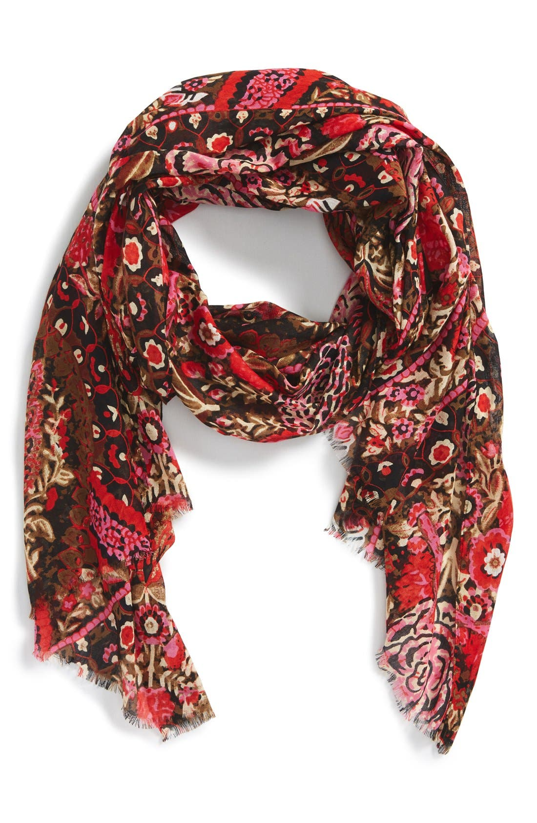 Main Image - Lulla Collection by Bindya 'Folklore' Print Scarf