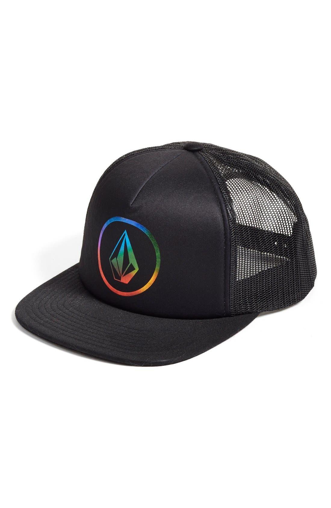 Alternate Image 1 Selected - Volcom 'Keep Truckin' Trucker Hat