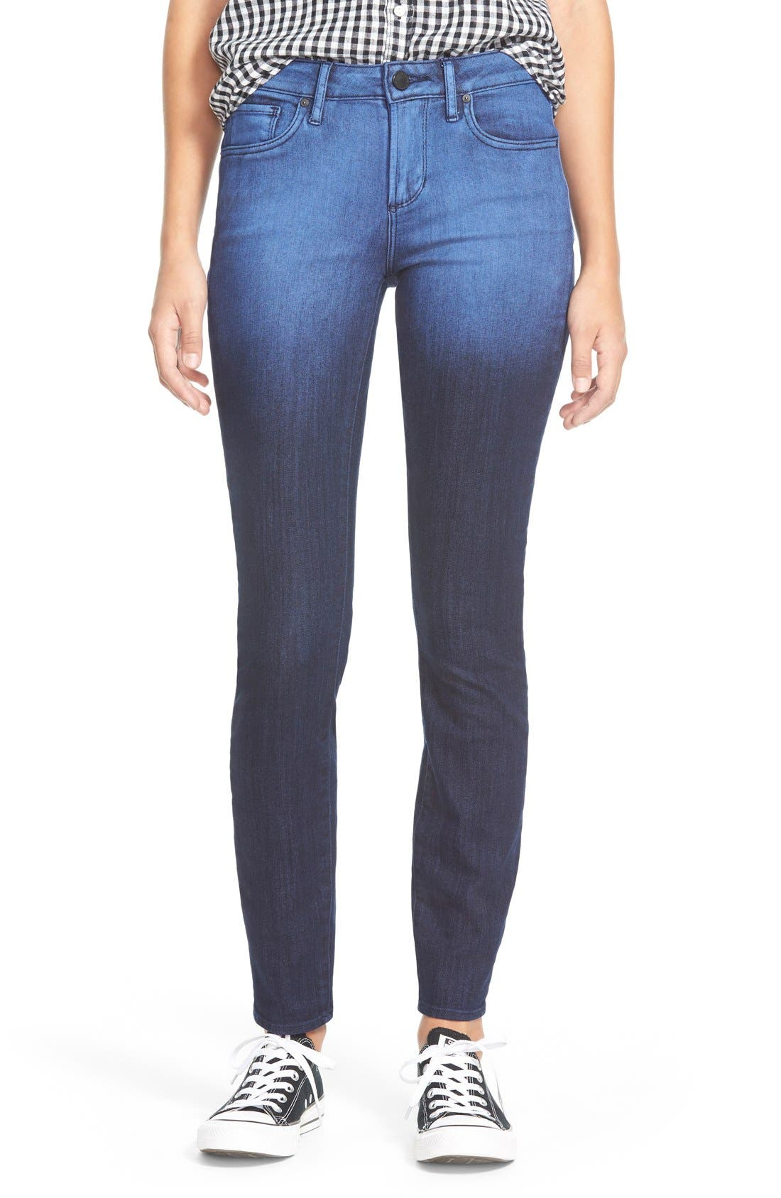 Alternate Image 1 Selected - Articles of Society Red Label 'SoHo' Skinny Jeans (Broadwick)