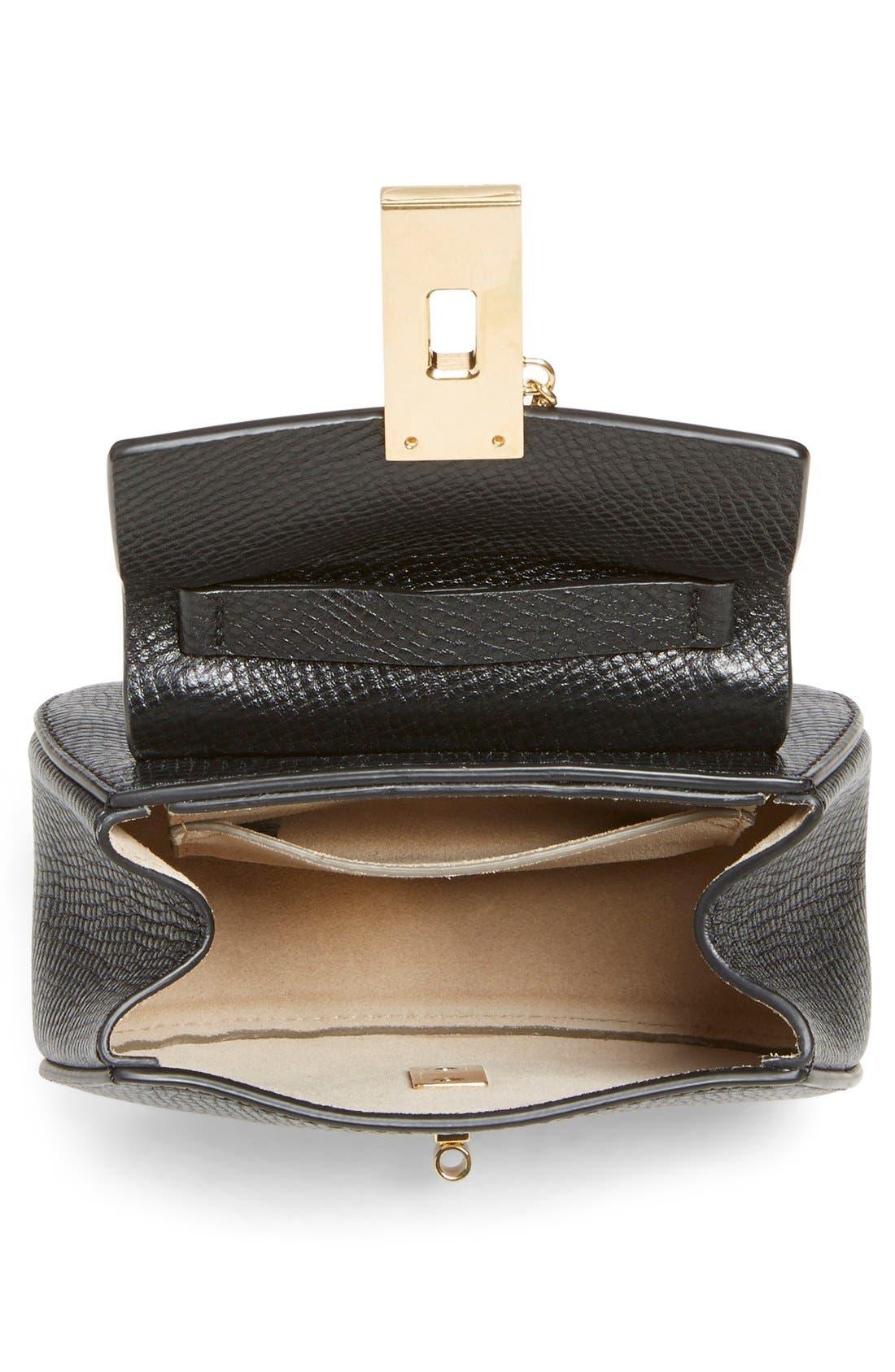 Alternate Image 3  - Chloé 'Nano Drew' Lambskin & Calfskin Leather Shoulder Bag