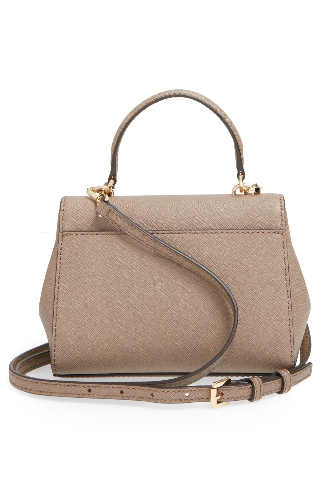Alternate Image 3  - MICHAEL Michael Kors 'Extra Small Ava' Leather Crossbody Bag