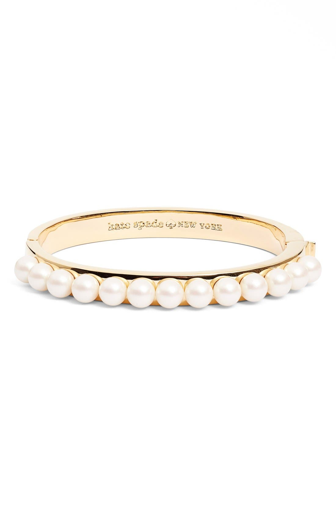 Main Image - kate spade new york 'pearly delight' bangle