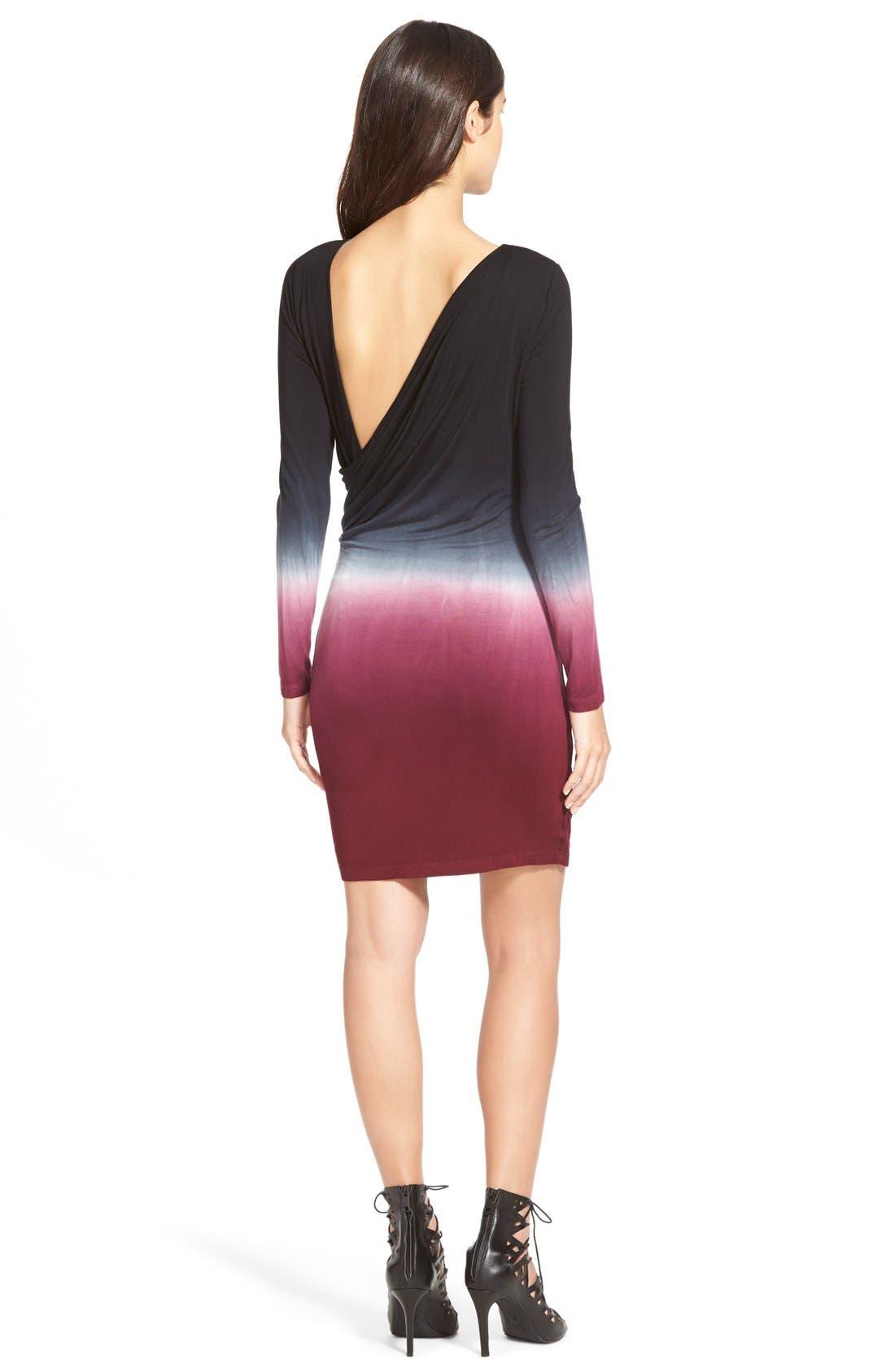 Alternate Image 2  - Young,Fabulous&Broke 'Audrina' Wrap Detail Dress