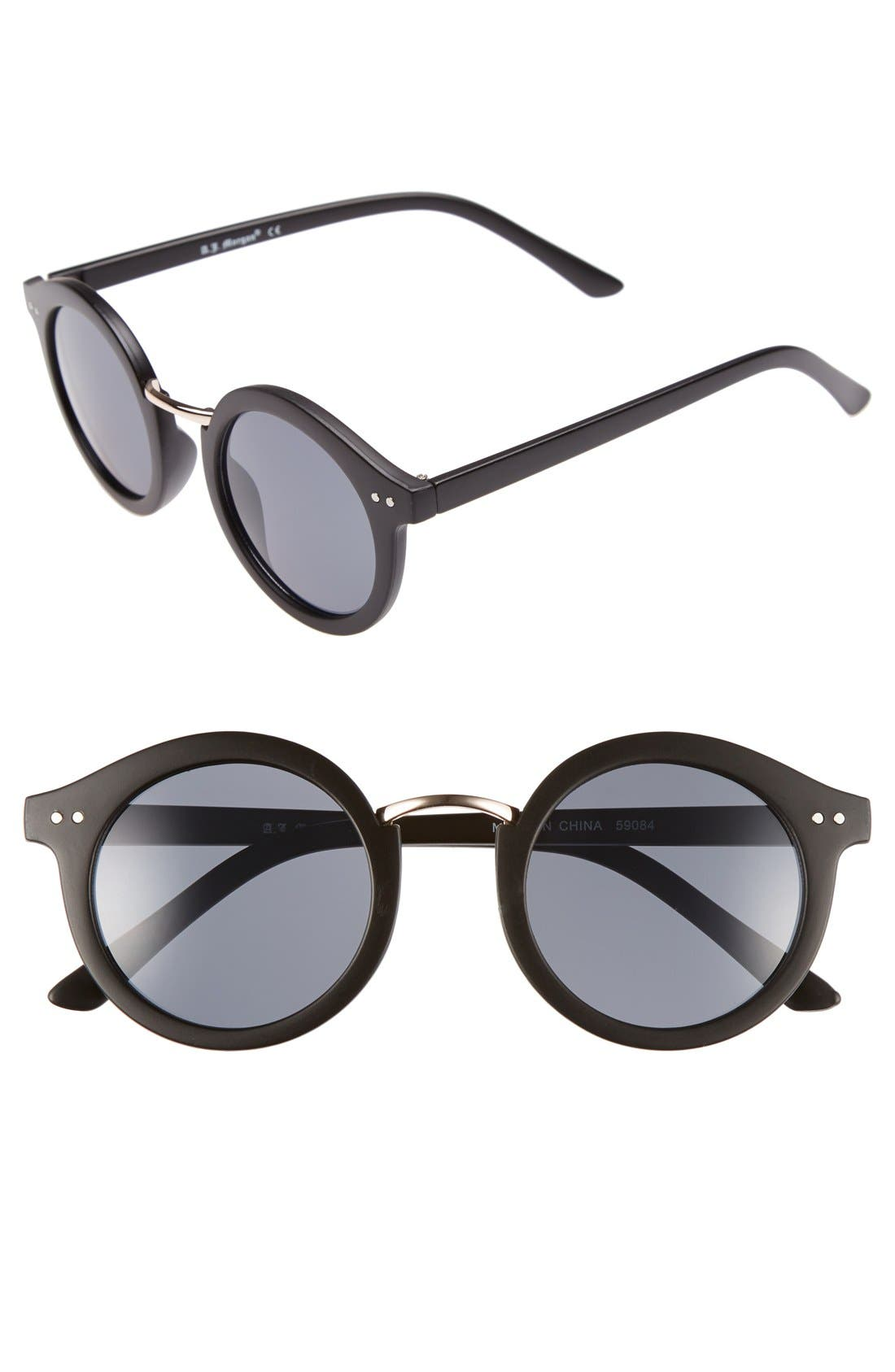 Alternate Image 1 Selected - A.J. Morgan 'Randall' 46mm Sunglasses