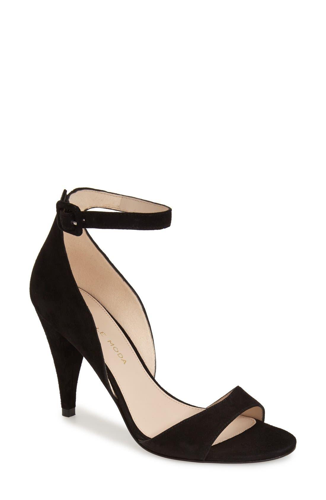 Alternate Image 1 Selected - Pelle Moda'Foster' Ankle Strap Sandal (Women)