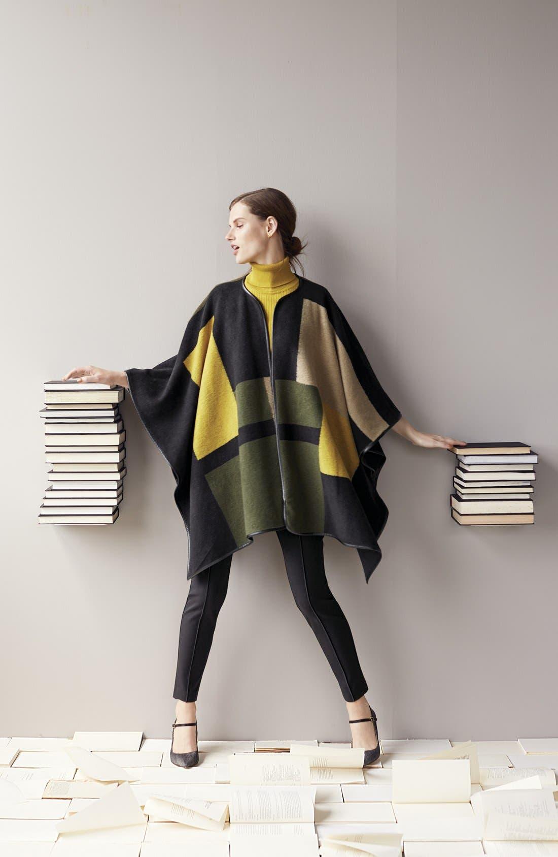 Alternate Image 4  - Vince Camuto Sleeveless Ribbed Turtleneck Sweater (Regular & Petite)