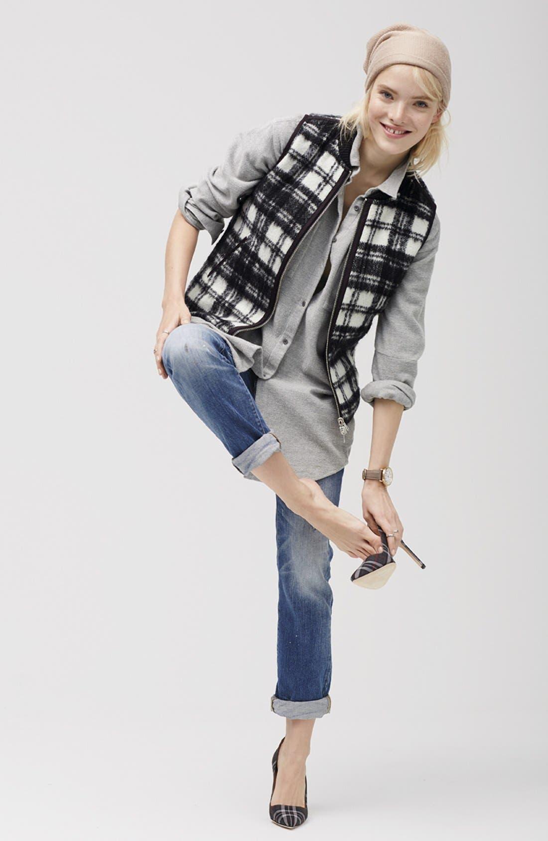 Alternate Image 7  - Madewell'Copeland Plaid' Reversible Vest