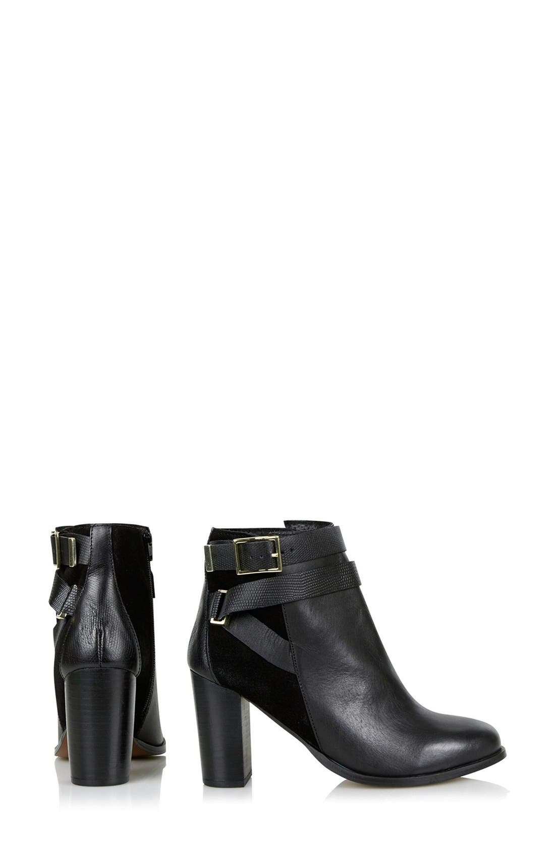 Alternate Image 3  - Topshop 'Harper Buckle' Ankle Boot (Women)