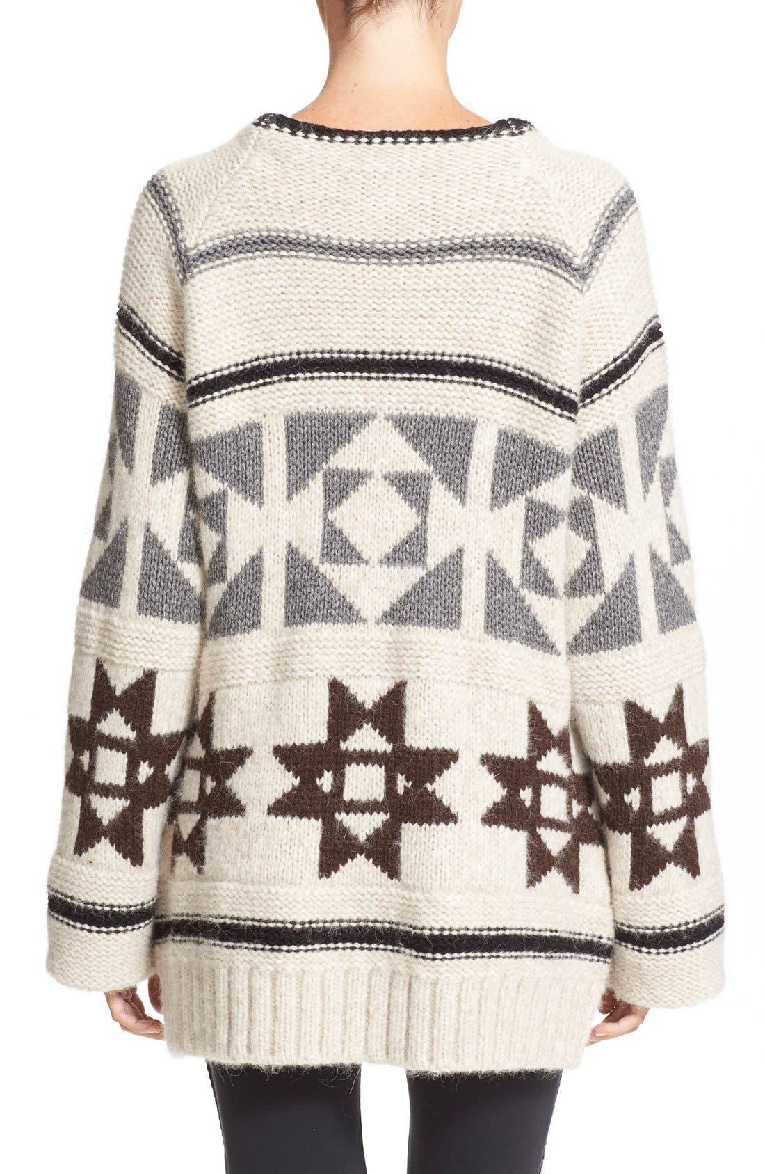Alternate Image 2  - Loma'Raine' Alpaca BlendSweater