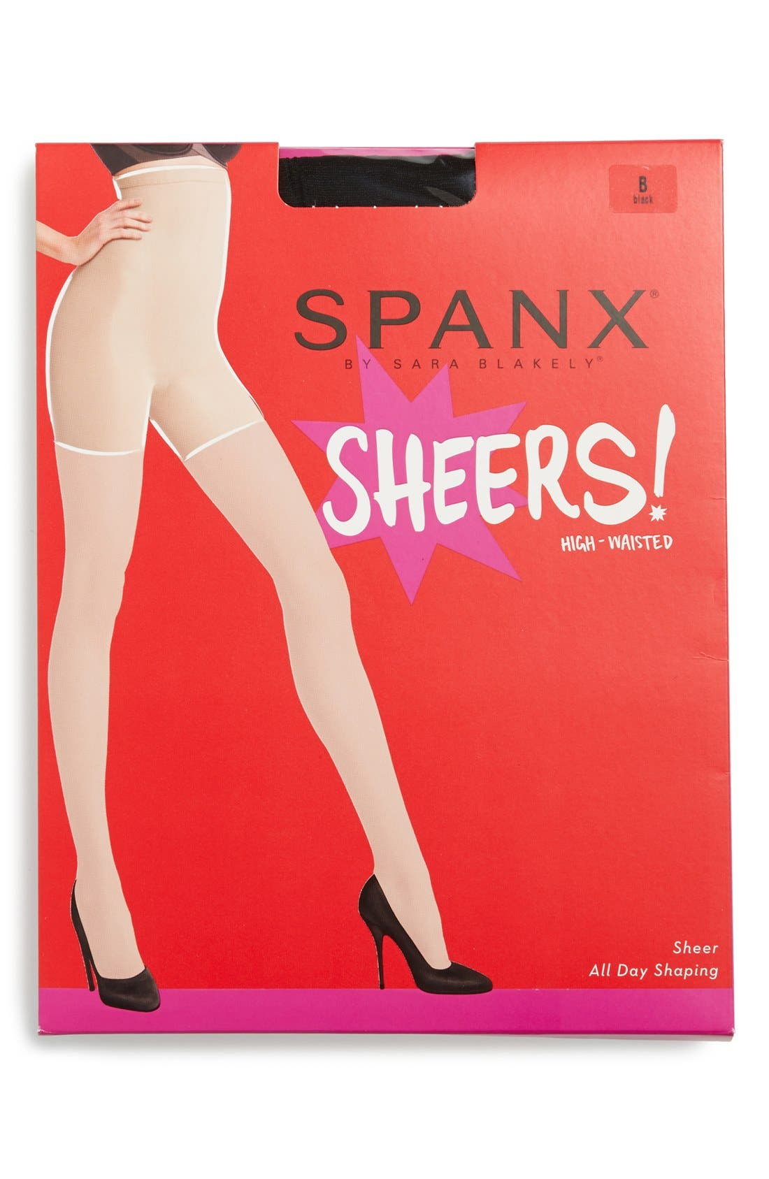Alternate Image 2  - SPANX® 'Original' High Waisted Shaping Sheers (Regular & Plus Size)