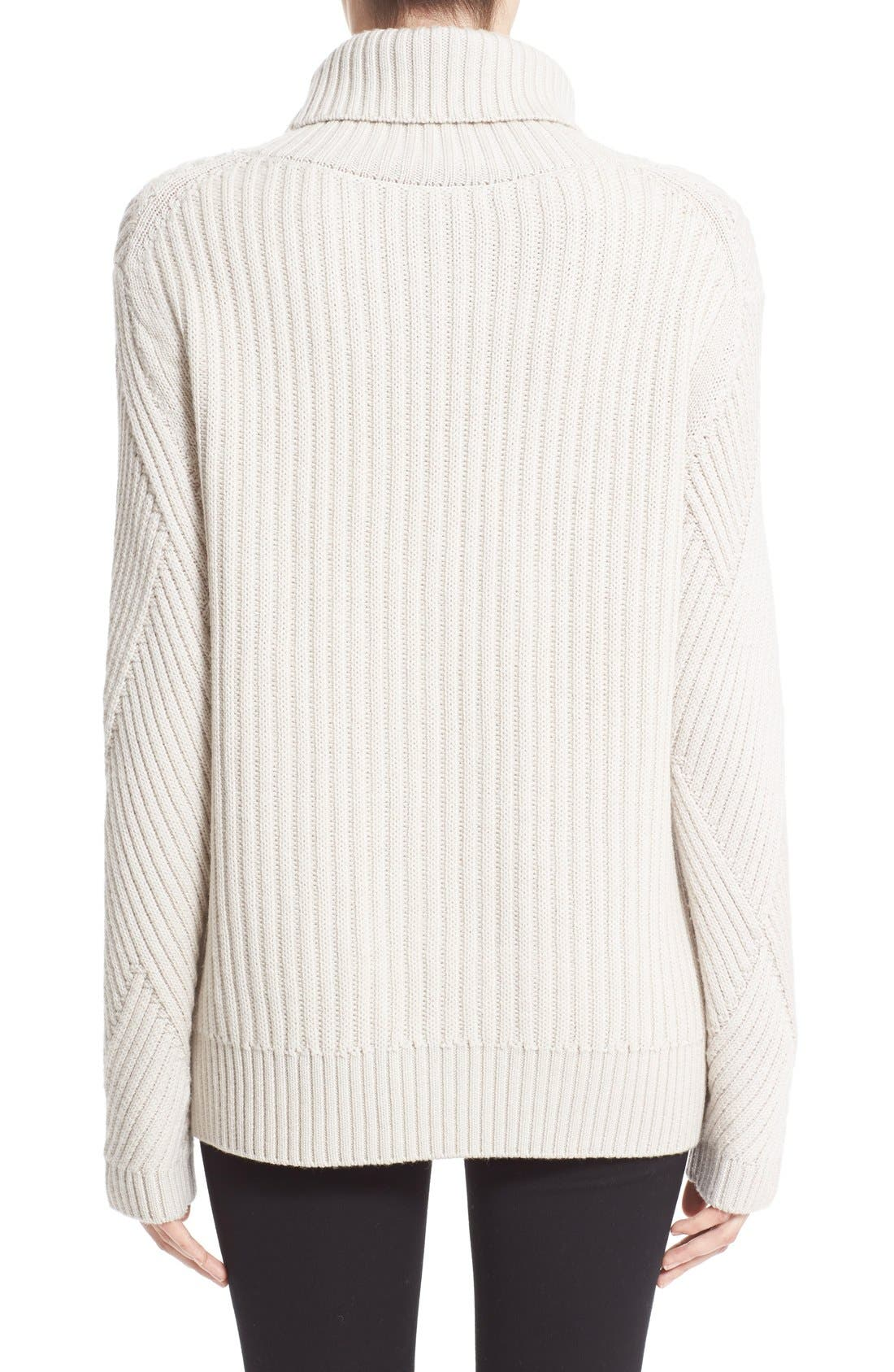Alternate Image 2  - rag & bone 'Blithe' Merino Wool Turtleneck Sweater
