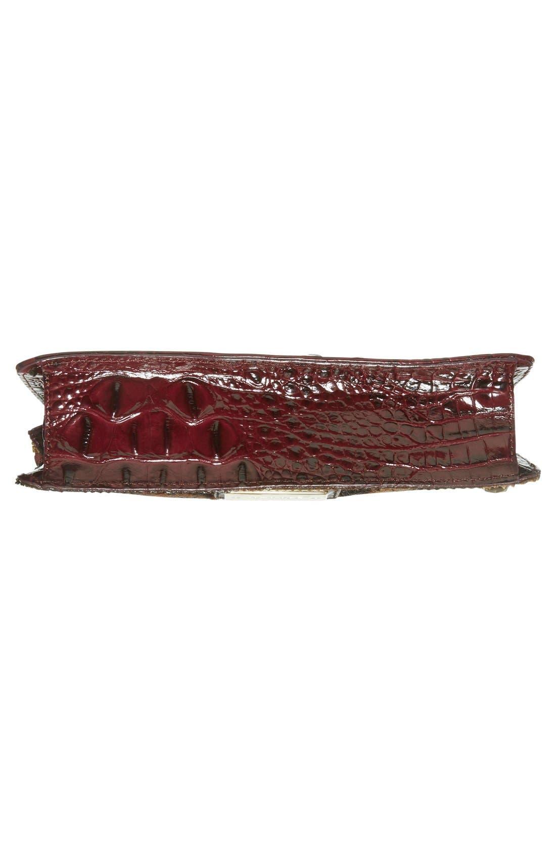 Alternate Image 6  - Brahmin'Winnie' Genuine Calf Hair & Leather Wristlet