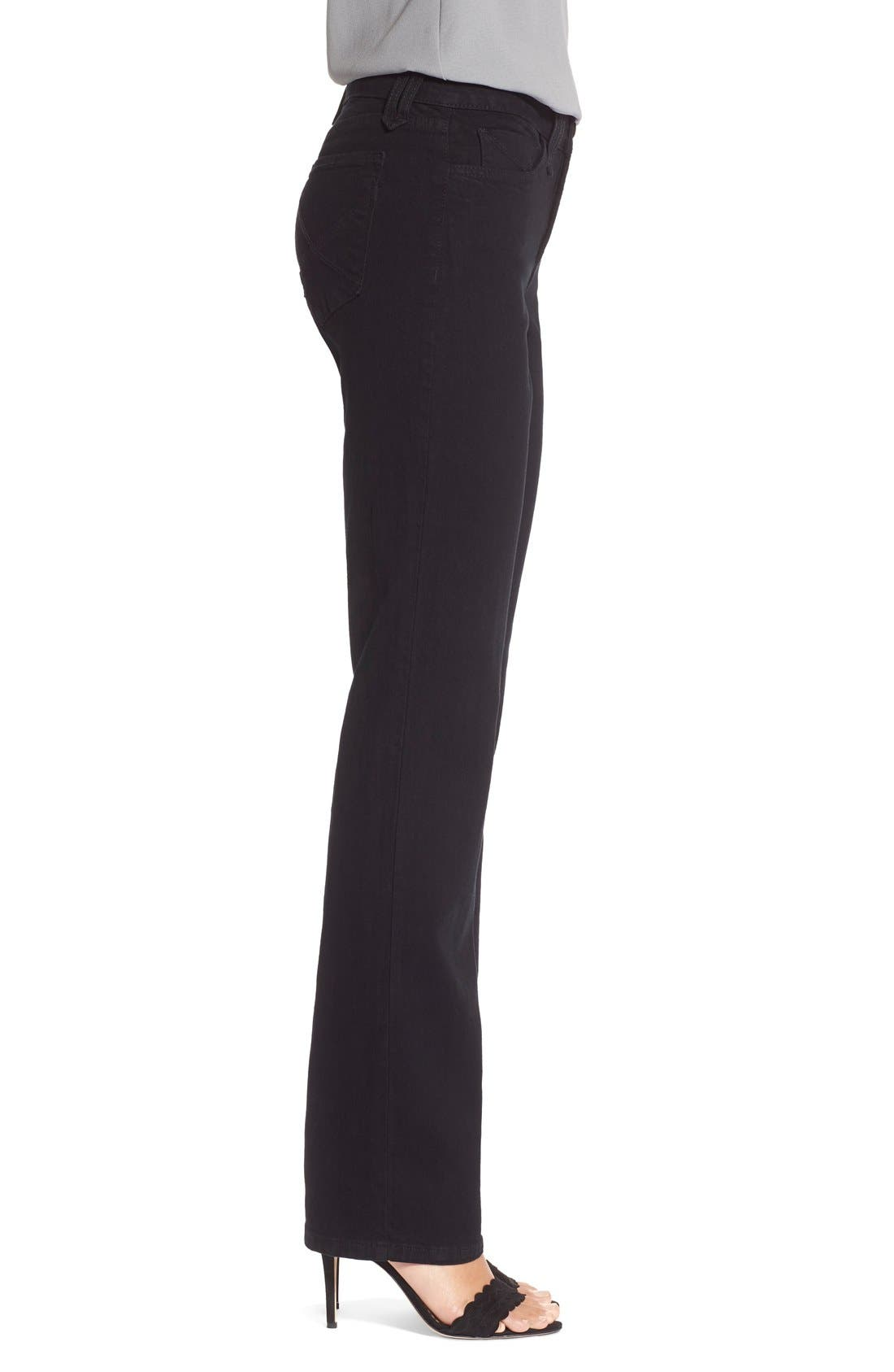 Alternate Image 3  - NYDJ 'Marilyn' Stretch Straight Leg Jeans (Regular & Petite)