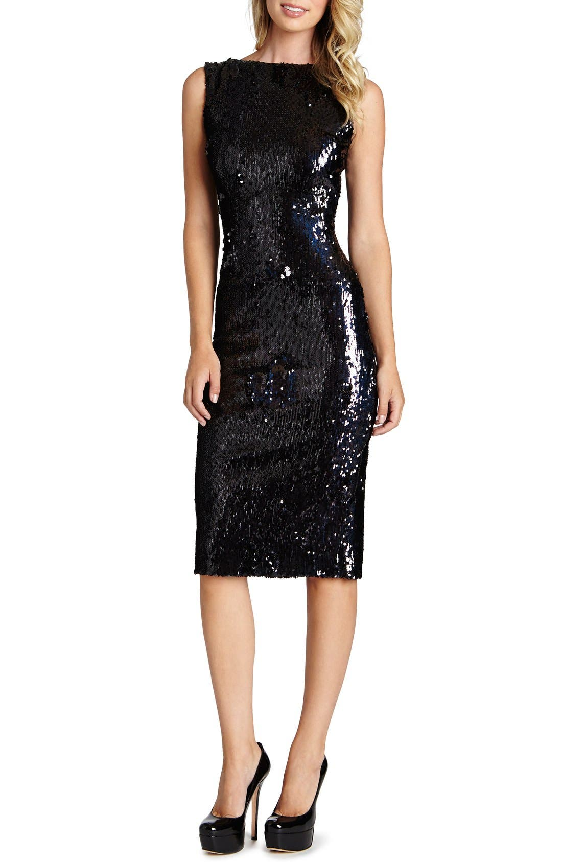 Main Image - Dress the Population 'Audrey' Sequin Body-Con Dress (Nordstrom Exclusive)