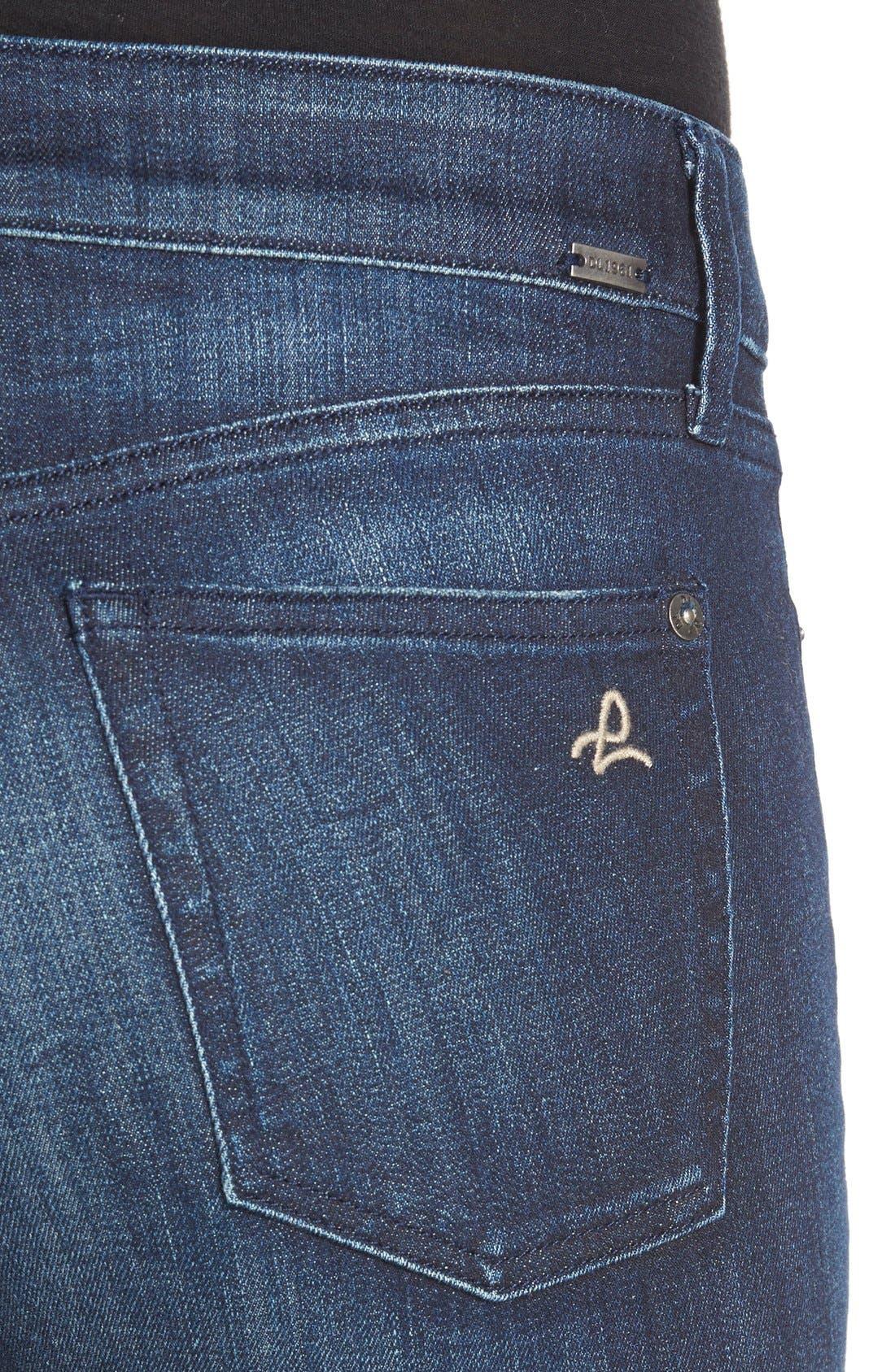 Alternate Image 4  - DL1961 'Florence' InstasculptSkinny Jeans (Vortex)
