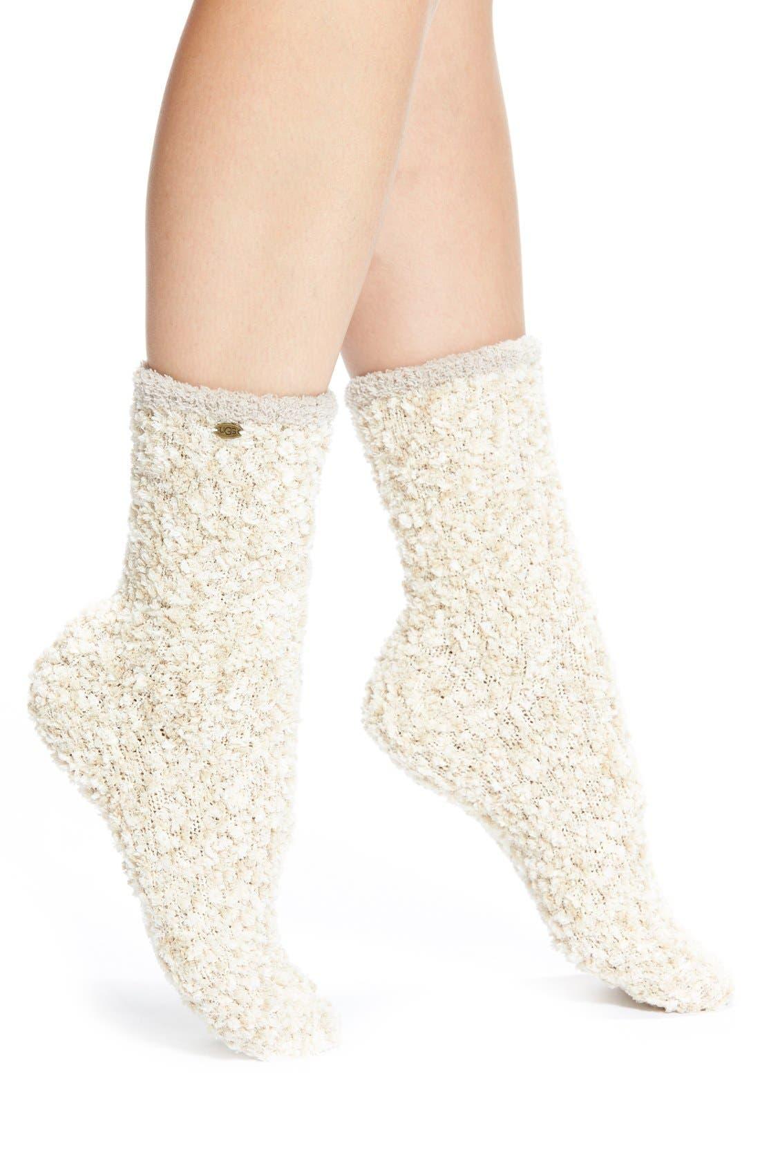 Alternate Image 1 Selected - UGG® Australia Chenille Crew Socks