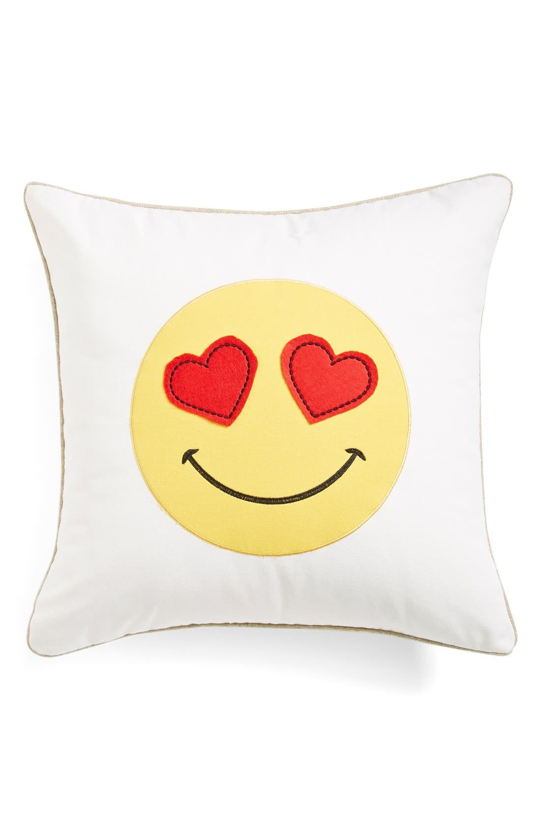 Alternate Image 1 Selected - Levtex 'Smiling Heart' Pillow