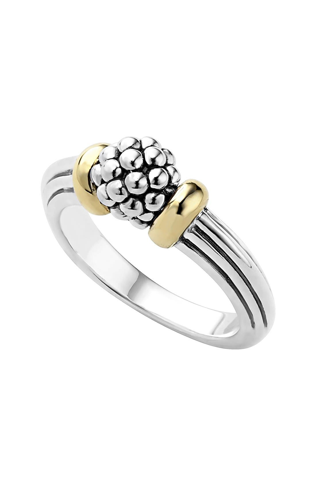 LAGOS 'Caviar Forever' Small Dome Ring