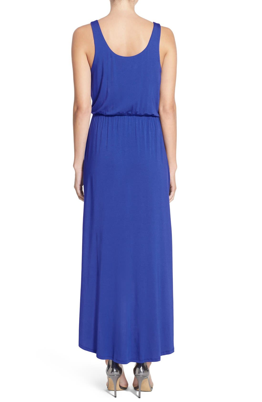 Alternate Image 2  - Felicity & Coco High/Low Hem Jersey Tank Dress (Nordstrom Exclusive)