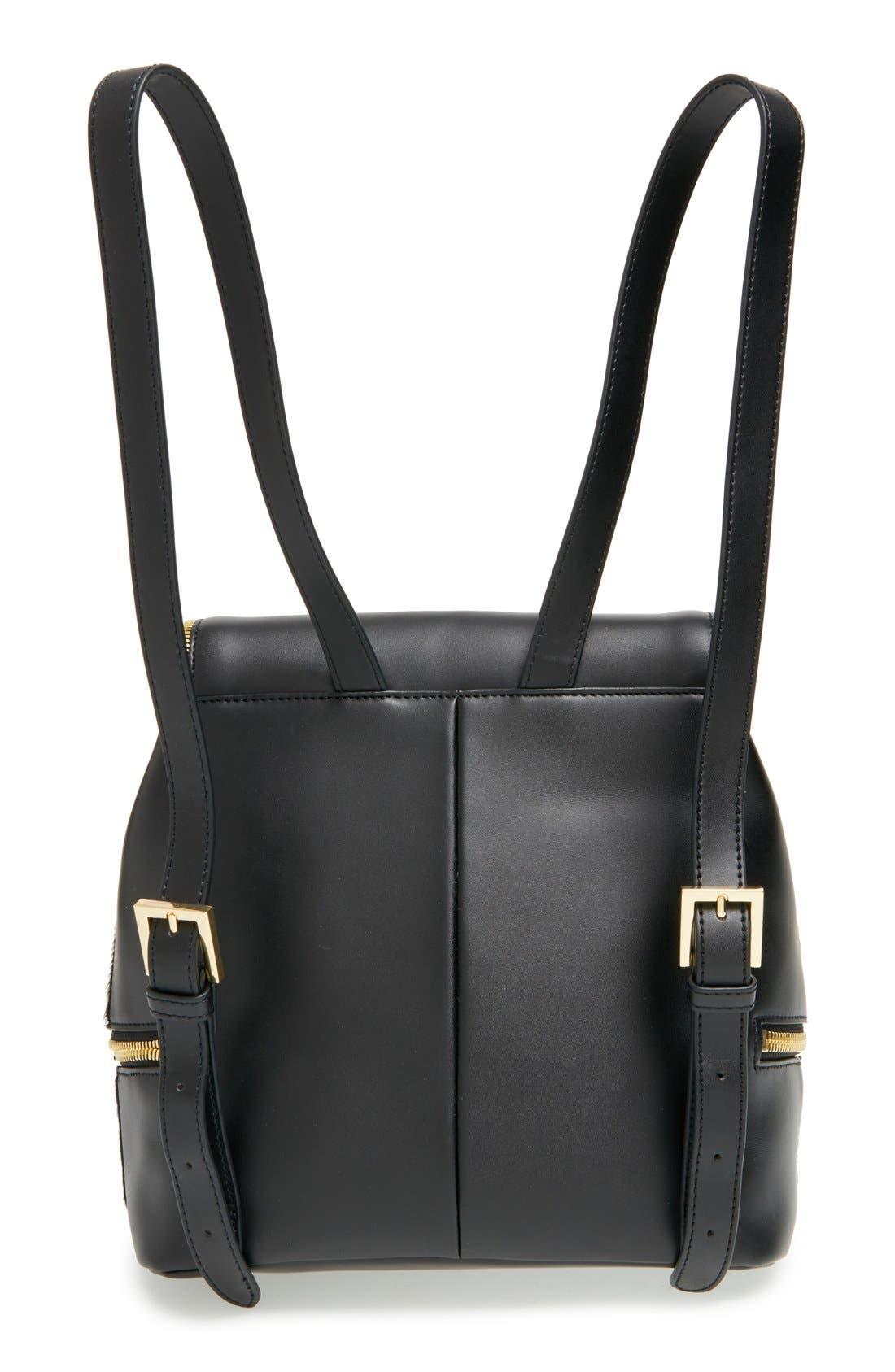 Alternate Image 3  - Ted Baker London Genuine Calf Hair & Leather Backpack