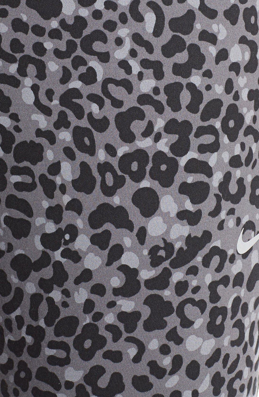 Alternate Image 5  - Nike 'Lotus Epic Run' Crop Leggings