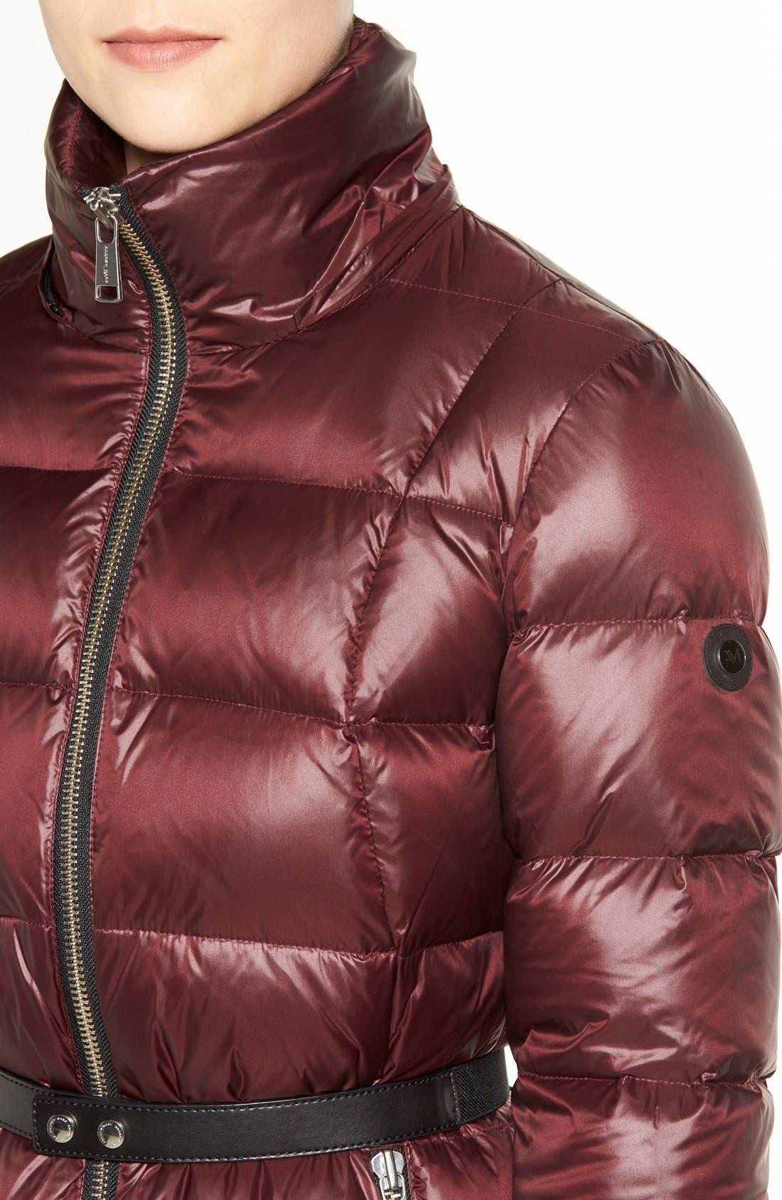 Alternate Image 4  - Andrew Marc 'Tatiana' Belted Down Coat with Genuine Fox & Rabbit Fur Trim